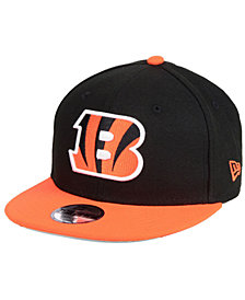 New Era Boys' Cincinnati Bengals Two Tone 9FIFTY Snapback Cap
