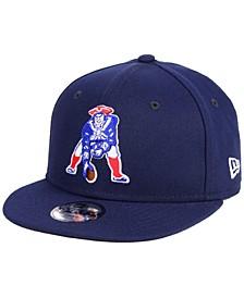 Boys' New England Patriots Two Tone 9FIFTY Snapback Cap