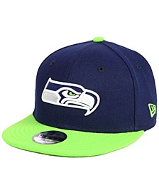 Boys' Seattle Seahawks Two Tone 9FIFTY Snapback Cap