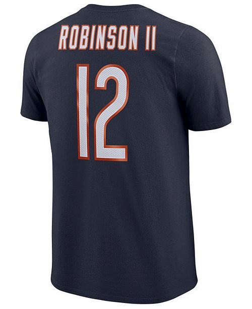 e16815f74 ... Men s Allen Robinson Chicago Bears Pride Name and Number Wordmark T- Shirt ...