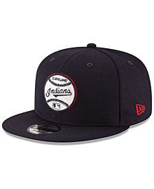 New Era Cleveland Indians Vintage Circle 9FIFTY Snapback Cap