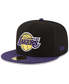 New Era Los Angeles Lakers Basic 2 Tone 59FIFTY Fitted Cap