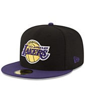 55c68325e96 New Era Los Angeles Lakers Basic 2 Tone 59FIFTY Fitted Cap