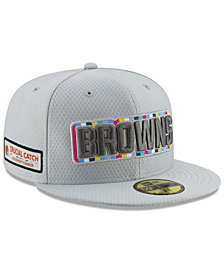 New Era Cleveland Browns Crucial Catch 59FIFTY FITTED Cap