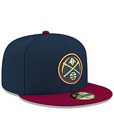 Denver Nuggets Basic 2 Tone 59FIFTY Fitted Cap