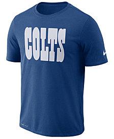 Nike Men's Indianapolis Colts Dri-FIT Cotton Essential Wordmark T-Shirt