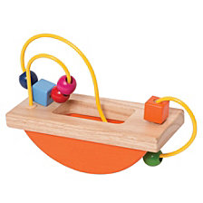 Manhattan Toy Wooden Bead Maze Run Baby Activity Toy