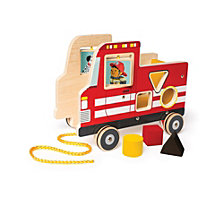 Manhattan Toy Fire Truck Pull Toy