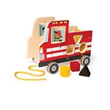 Manhattan Toy Fire Truck Pull Toy