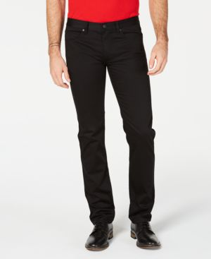 HUGO BOSS Hugo Men'S Slim-Fit Stretch Jeans in Black