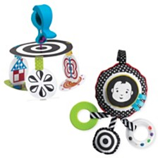 Manhattan Toy Wimmer Ferguson Infant Mobile And Sights And Sounds Baby Travel Toy Set