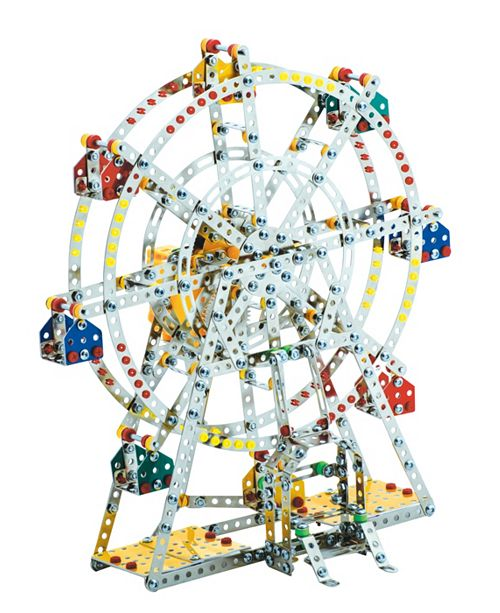 Schylling Steel Works Metal Ferris Wheel Construction Set