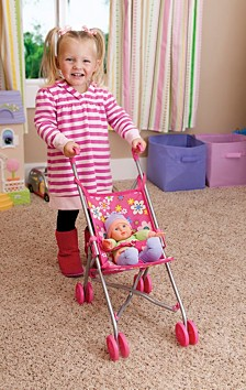 Toysmith Doll Umbrella Stroller