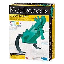 4M Kidzrobotix Crazy Robot Kit Steam Powered Kids