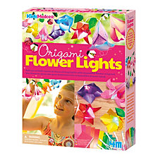 4M Kidzmaker Origami Flower Lights