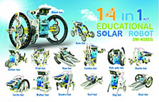 Owi 14 In 1 Solar Robot