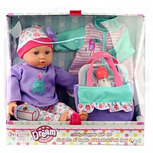 Dream Collection 14 Inch Baby Doll Gift Set With Accessories