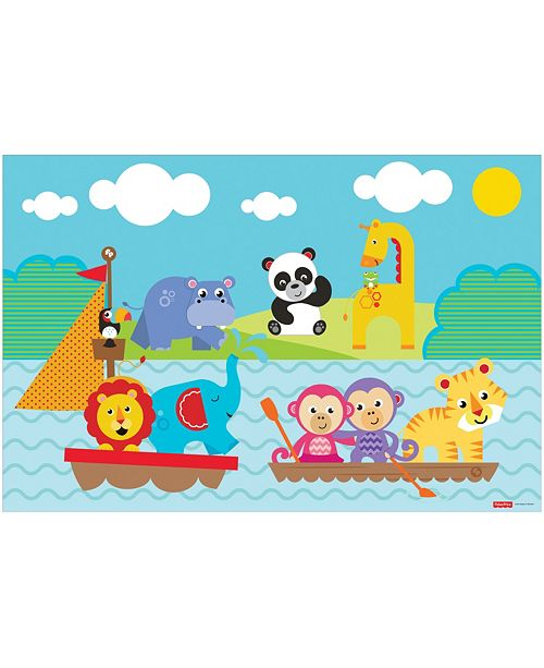 8a2267691b ... TCG Toys Fisher Price Memory Foam 2 Sided Jumbo Gelli Mat Play Mat ...