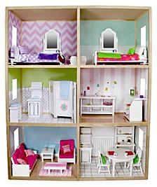 My Girls 6 Foot Tall Dollhouse For 18 Inch Dolls Modern Style