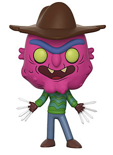 Funko Pop Animation Rick And Morty Collectors Set Seires 3, Scary Terry, Summer, Beth With Wine Glass, Lawyer Morty