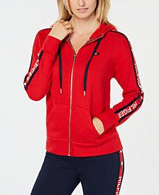 Tommy Hilfiger Sport Logo-Sleeve Hoodie