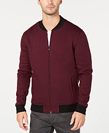 Alfani Men's Fleece Bomber Jacket, Created for Macy's