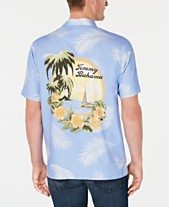 Tommy Bahama Men s Kahuna Sunset Tropical-Print Shirt fbb7e9bbe