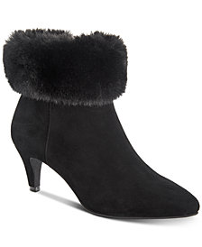 Alfani Women's Hansonn Step 'N Flex Booties, Created for Macy's
