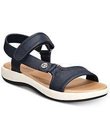 Giani Bernini Foyla Memory-Foam Platform Sandals, Created for Macy's