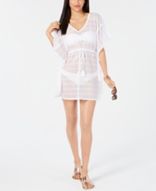 Miken Crochet Caftan Cover-Up