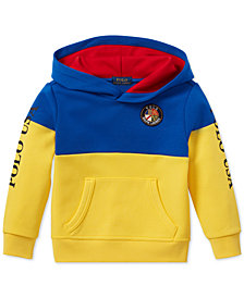 Polo Ralph Lauren Little Boys Colorblocked Tech Hoodie