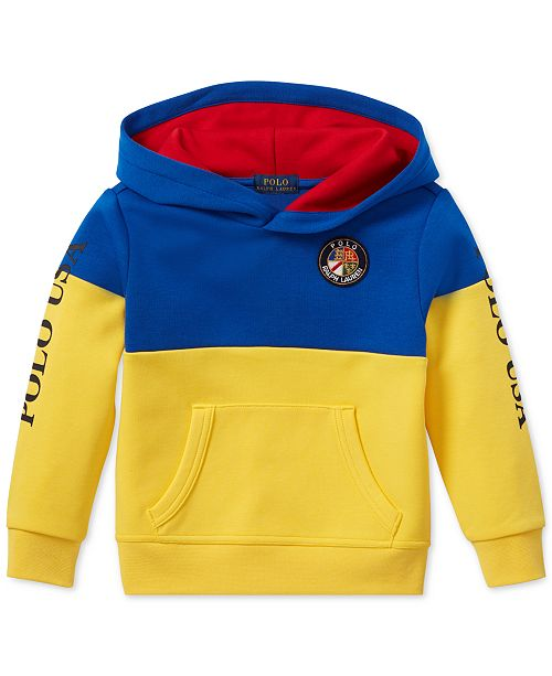 12df023e4 Polo Ralph Lauren Toddler Boys Colorblocked Tech Hoodie   Reviews ...