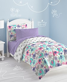 Dream Factory Elley Elephant Full Comforter Set