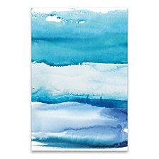 Blue Sky Hand Embellished Canvas
