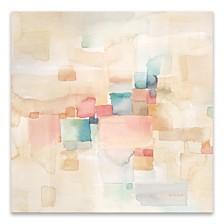Desert Dreams Square II Hand Embellished Canvas