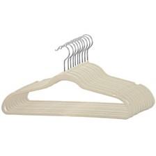 Sunbeam 10 Piece Velvet Hanger