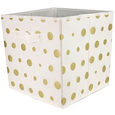 Sunbeam Metallic Storage Bin