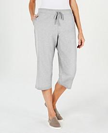 Knit Drawstring Capri Pants, Created for Macy's
