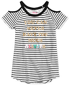 Epic Threads Big Girls Striped Glitter T-Shirt, Created for Macy's