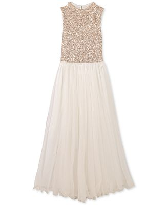 Speechless Big Girls Sequin Bodice Maxi Dress Dresses Kids Macy S