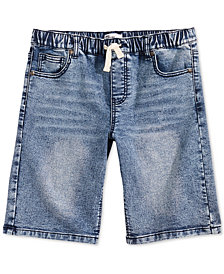 Epic Threads Big Boys Bowery Denim Shorts, Created for Macy's