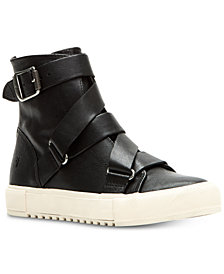 Frye Women's Gia Moto High Top Sneakers