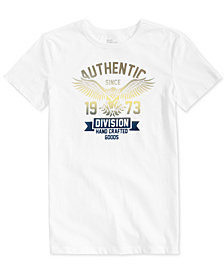 Epic Threads Big Boys Authentic Eagle Graphic T-Shirt, Created for Macy's