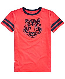 Epic Threads Big Boys Tiger Patch Graphic T-Shirt, Created for Macy's