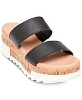 0ce6d7e13c6845 Steve Madden Women s Blaine Flatform Sandals