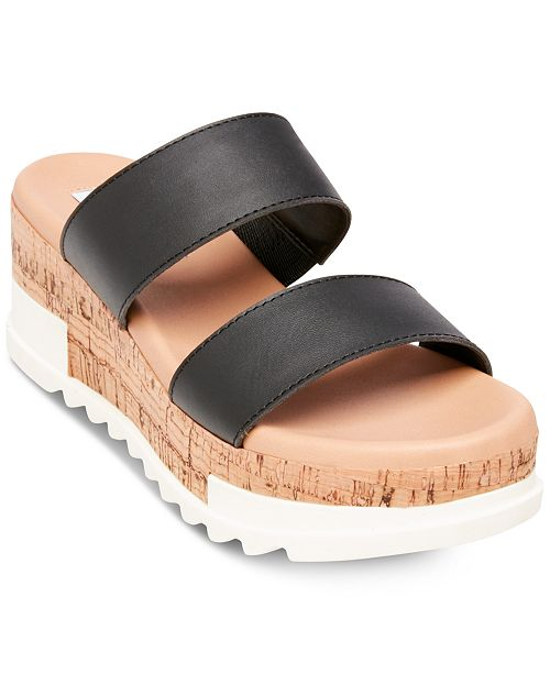 16ccbfb7ea8 Steve Madden Women s Blaine Flatform Sandals   Reviews - Sandals ...