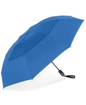 SHEDRAIN Shedrain Unbelievabrella Auto Open-Close Umbrella in Ocean Blue