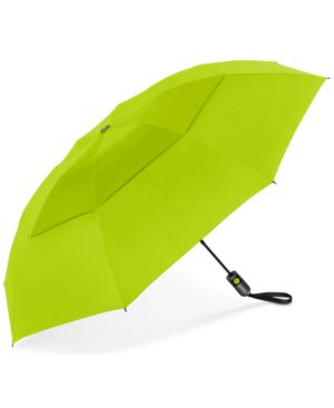 SHEDRAIN Shedrain Unbelievabrella Auto Open-Close Umbrella in Sour Apple
