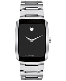 Men's Swiss Eliro Stainless Steel Bracelet Watch 40mm
