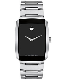 Movado Men's Swiss Eliro Stainless Steel Bracelet Watch 40mm